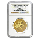 Proof Gold Maple Leafs (NGC Certified)